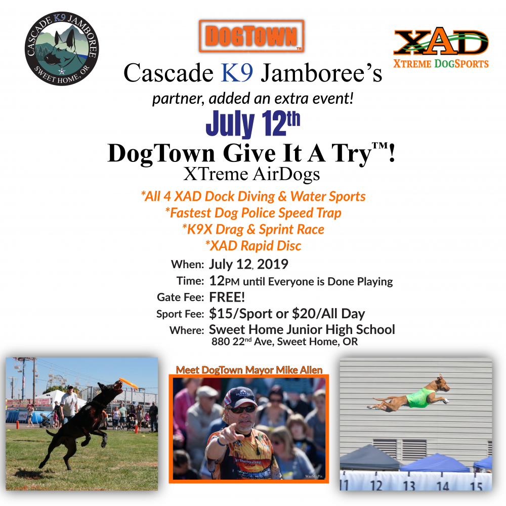 Cascade K9 Jamboree | Sweet Home, Oregon